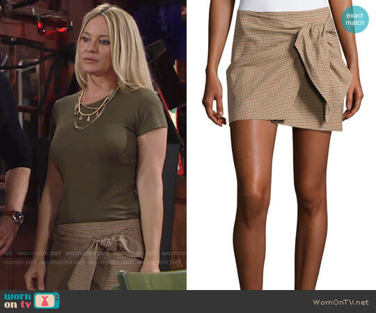 Isabel Marant Ninon Skirt worn by Sharon Case on The Young & the Restless