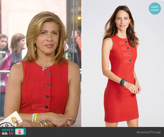 'Donna' Sleeveless Dress by J. McLaughlin worn by Hoda Kotb on Today