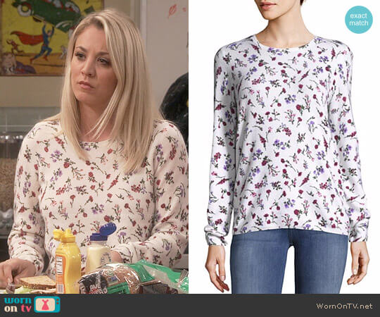 Joie Feronia Sweater worn by Kaley Cuoco on The Big Bang Theory