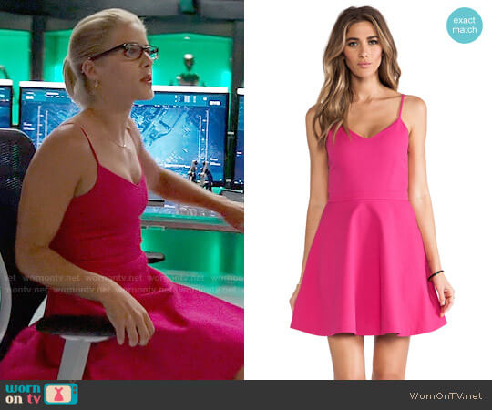 Joie Viernan Dress worn by Felicity Smoak (Emily Bett Rickards) on Arrow