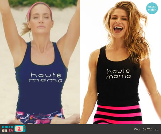 Haute Mama Tank Top by K-Deer worn by Cary Deuber  on The Real Housewives of Dallas