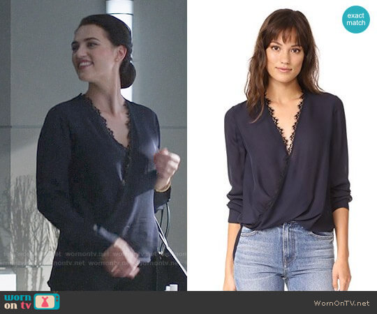 L'Agence Rosario Blouse worn by Lena Luthor (Katie McGrath) on Supergirl