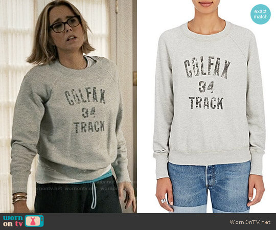 NSF Saguro Cotton Sweatshirt worn by Elizabeth McCord (Téa Leoni) on Madam Secretary