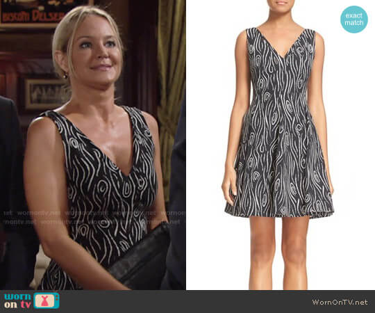 Opening Ceremony Laurel Dress worn by Sharon Case on The Young & the Restless