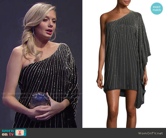 Parker Daphine Dress worn by Abby Newman (Melissa Ordway) on The Young & the Restless