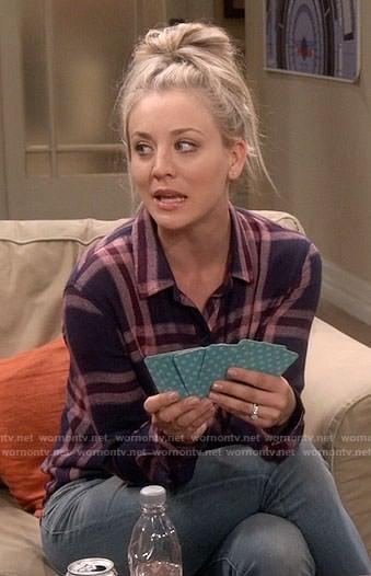Howard's light green checked shirt on The Big Bang Theory