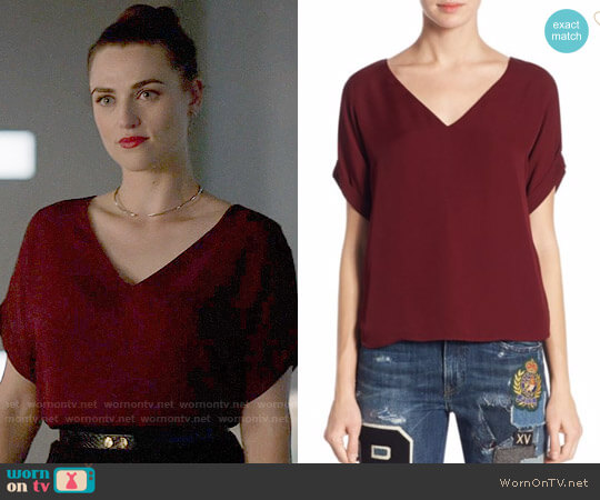 Polo Ralph Lauren Emerson Top worn by Lena Luthor (Katie McGrath) on Supergirl