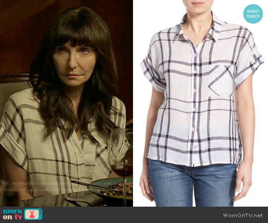 Rails Whitney Shirt worn by Mary Steenburgen on Last Man On Earth