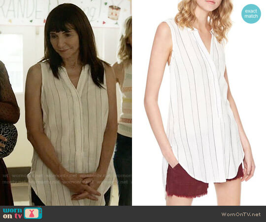 Sanctuary Arlo Striped Tunic worn by Mary Steenburgen on Last Man On Earth