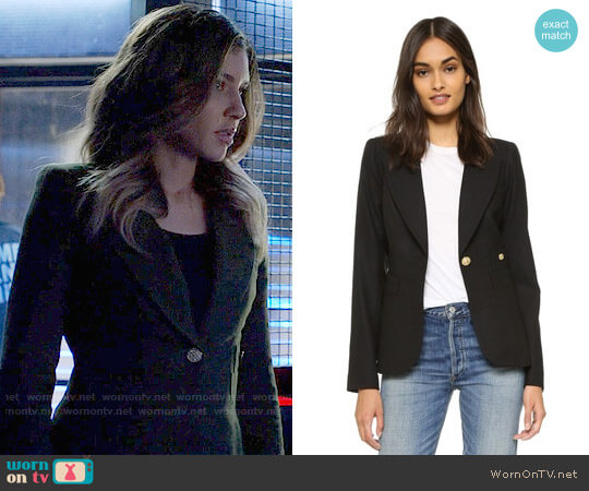 Smythe Duchess Blazer worn by Dinah Drake (Juliana Harkavy) on Arrow