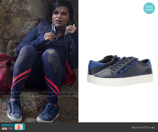 Tory Sport Ruffle Sneakers worn by Mindy Lahiri (Mindy Kaling) on The Mindy Project