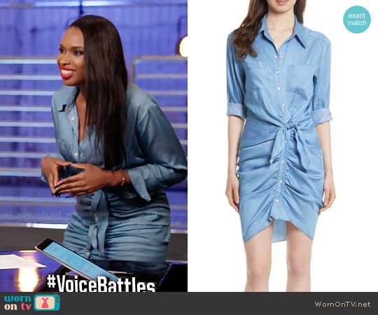 Veronica Beard Sierra Dress worn by Jennifer Hudson  on The Voice