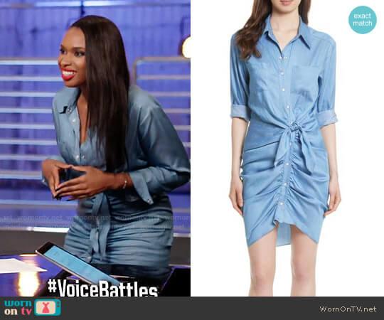 Veronica Beard Sierra Dress worn by Jennifer Hudson on The Voice