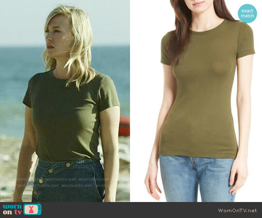 Vince '70s Crewneck Tee worn by Melissa Shart (January Jones) on Last Man On Earth