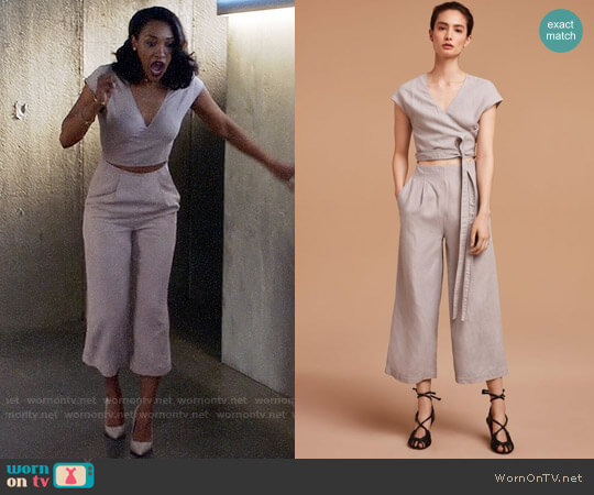 Wilfred Brax Jumpsuit worn by Iris West (Candice Patton) on The Flash