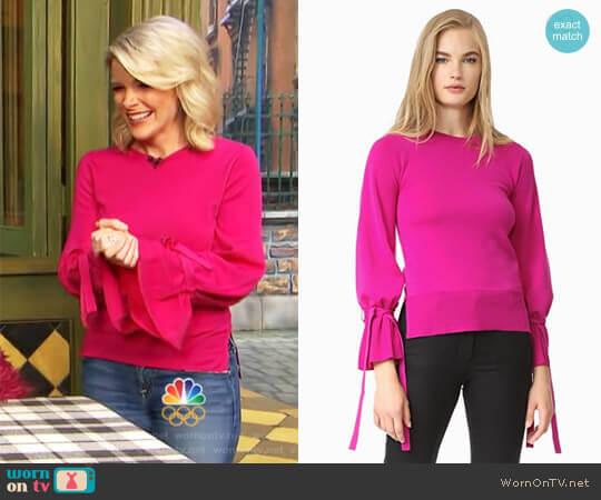 Adam Lippes Bell Sleeve Sweater worn by Megyn Kelly on Today