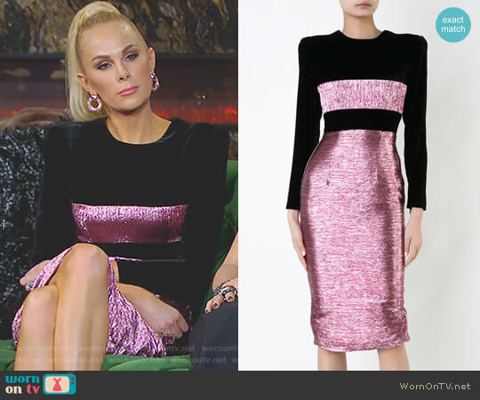 'Rocco' Dress by Alex Perry worn by Kameron Westcott on The Real Housewives of Dallas