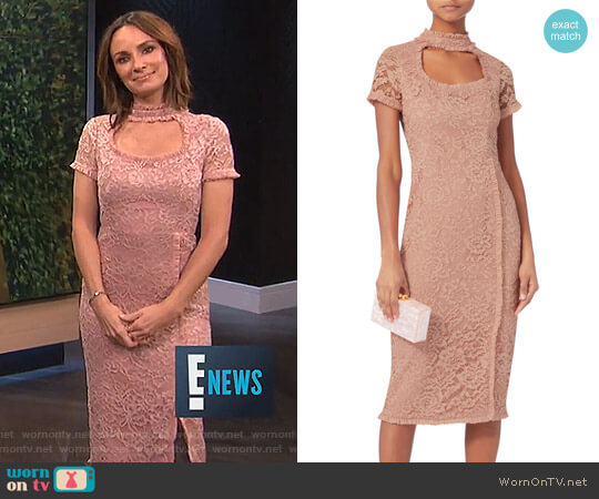 'Zoelle' Dress by Alexis worn by Catt Sadler on E! News