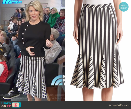 Crocus Skirt by Altuzarra worn by Megyn Kelly on Today