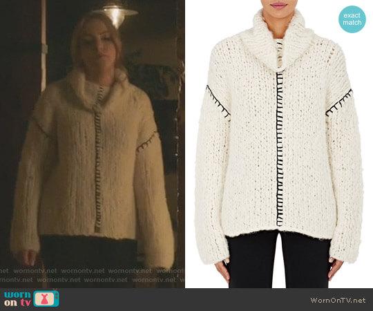 'Ricci' Sweater by Altuzarra worn by Elizabeth Gillies on Dynasty
