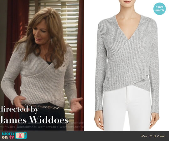 Evolution Crossover Sweater by C/Meo Collective worn by Bonnie Plunkett (Allison Janney) on Mom