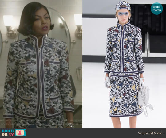 2016 Spring Collection by Chanel worn by Cookie Lyon (Taraji P. Henson) on Empire