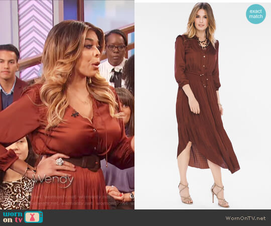 Peasant Detail Dress by Chicos worn by Wendy Williams on The Wendy Williams Show