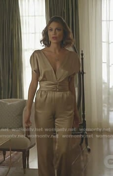 Cristal's brown turtleneck sweater on Dynasty