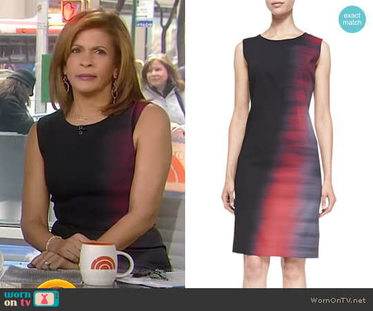 'Emory' Dress by Elie Tahari worn by Hoda Kotb (Hoda Kotb) on Today