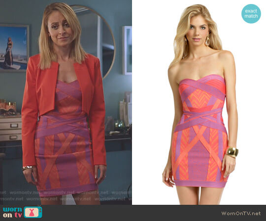 Ibiza Lights Dress by Herve Leger worn by Nicole Richie on Great News