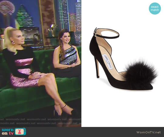 'Rosa' Pumps by Jimmy Choo worn by Kameron Westcott on The Real Housewives of Dallas