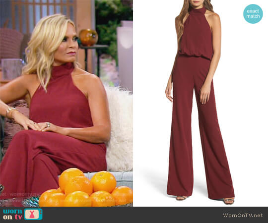 cbe5658b5c7da Moment for Life Halter Jumpsuit by Lulus worn by Tamra Judge (Tamra Judge)  on