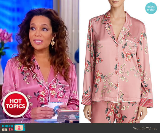Lillit Blouse by Joie worn by Sunny Hostin (Sunny Hostin) on The View