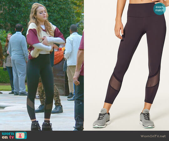 Fresh in Mesh Tight by Lululemon worn by Fallon Carrington (Elizabeth Gillies) on Dynasty