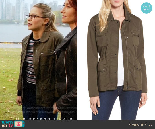 Nordstrom Signature Collection Sateen Utility Jacket