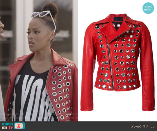 Embellished Jacket by RTA worn by Serayah McNeill on Empire