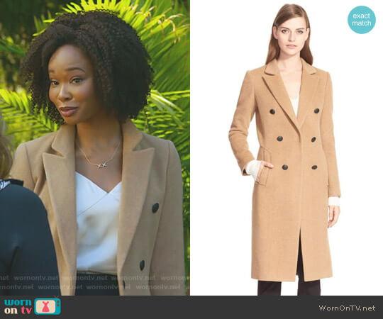 'Faye' Coat by Rag & Bone worn by Monica Colby (Wakeema Hollis) on Dynasty