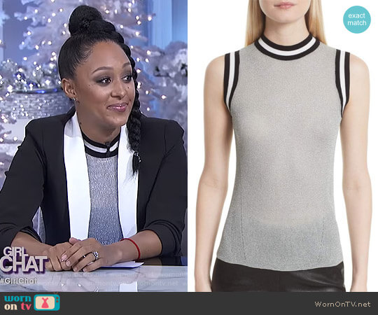 'Priya' Top by Rag & Bone worn by Tamera Mowry  on The Real