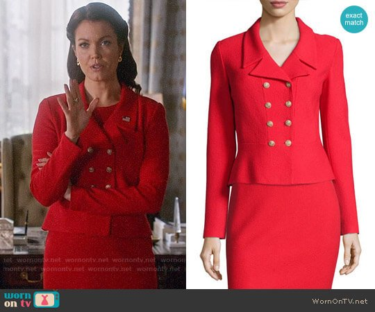 St John Collection Spencer Jacket worn by Mellie Grant (Bellamy Young) on Scandal