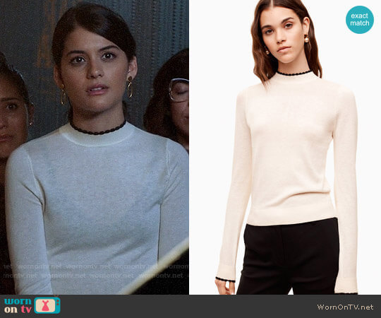 Sunday Best Cher Sweater worn by Sabrina Pemberton (Sofia Black D'Elia) on The Mick