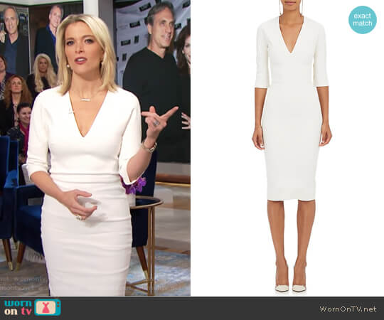 Sheath Dress by Victoria Beckham worn by Megyn Kelly (Megyn Kelly) on Today