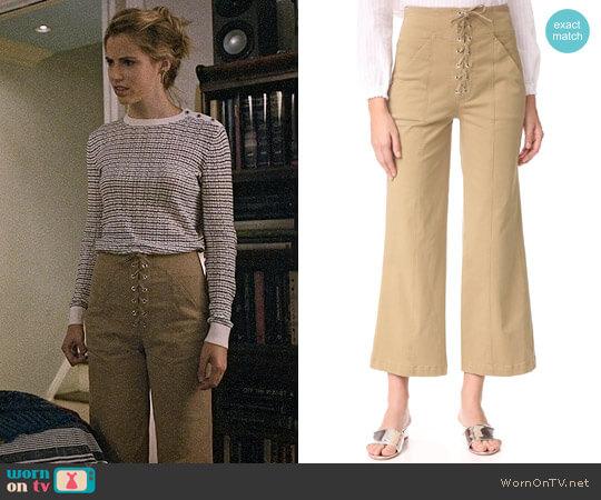 ALC Kyt Pants worn by Stephanie 'Stevie' McCord (Wallis Currie-Wood) on Madam Secretary