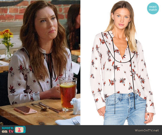 ALC Walkers Blouse worn by Briga Heelan on Great News