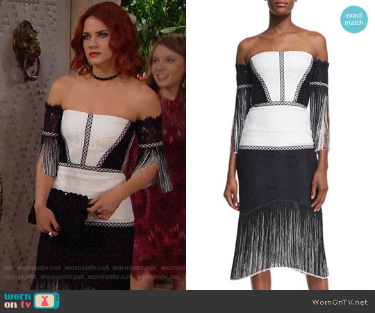 Alexis Antoinette Dress worn by Courtney Hope on The Bold & the Beautiful