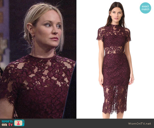 Alexis Leona Dress worn by Sharon Case on The Young & the Restless