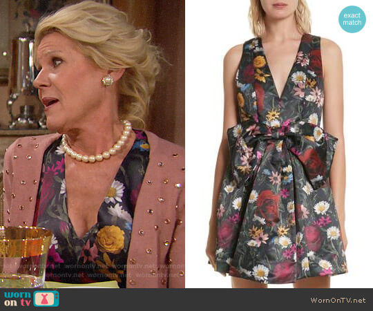 Alice + Olivia Daralee Dress worn by Pamela Douglas (Alley Mills) on The Bold & the Beautiful