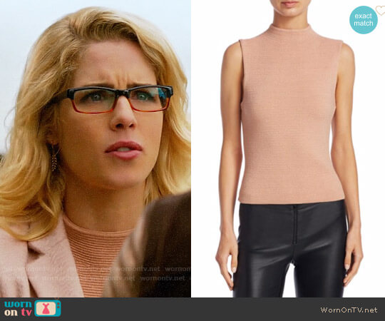 Alice + Olivia Ingrid Top worn by Emily Bett Rickards on The Flash