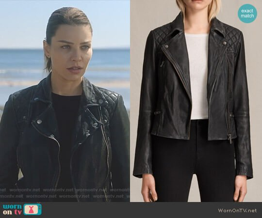 Lucifer Boo Normal: WornOnTV: Chloe's Black Moto Jacket On Lucifer