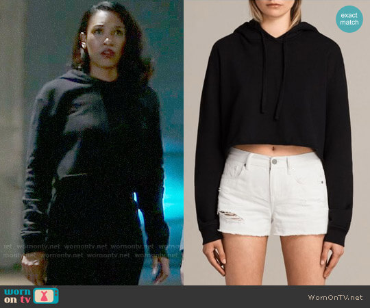 All Saints Alisa Sweatshirt worn by Candice Patton on The Flash