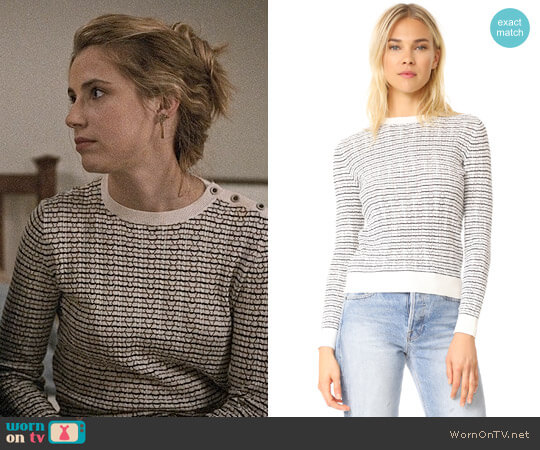 APC Striped Sweater worn by Wallis Currie-Wood on Madam Secretary